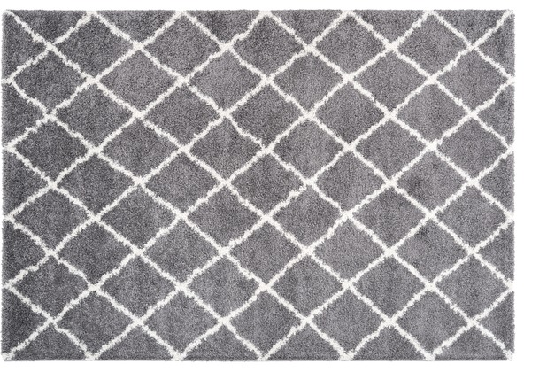 Kayoom Teppich Guinea - Kindia Grau 120 x 170 cm