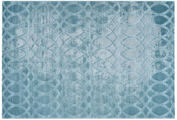 Kayoom Teppich San Marino - Galazzano Türkis 160 x 230 cm