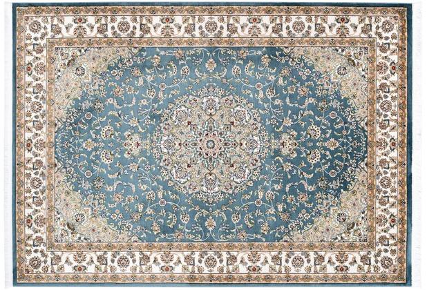 Kayoom Teppich Scotland - Edinburgh Blau 160 x 230 cm