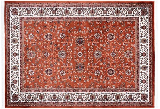 Kayoom Teppich Scotland - Glasgow Rost 160 x 230 cm