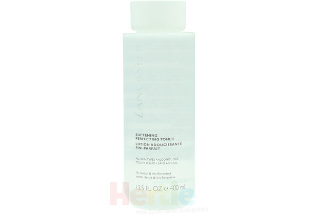 Lancaster Soft Perfecting Toner All Skin Types and Alcohol Free - Lily Nectar & Iris Florentina 400 ml
