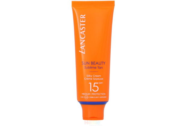 Lancaster Sun Beauty Silky Cream SPF15 Sublime Tan - Medium Protection, Sonnencreme 50 ml