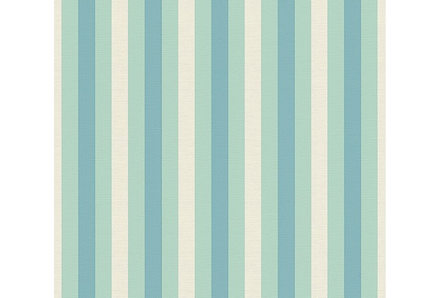 Lars Contzen Vliestapete Artist Edition No. 1 Tapete Pyjama Preféré blau grün 10,05 m x 0,53 m