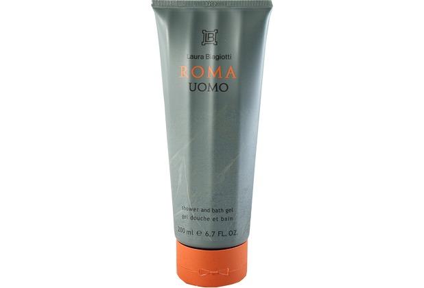 Laura Biagiotti Roma Uomo shower gel unboxed 200 ml