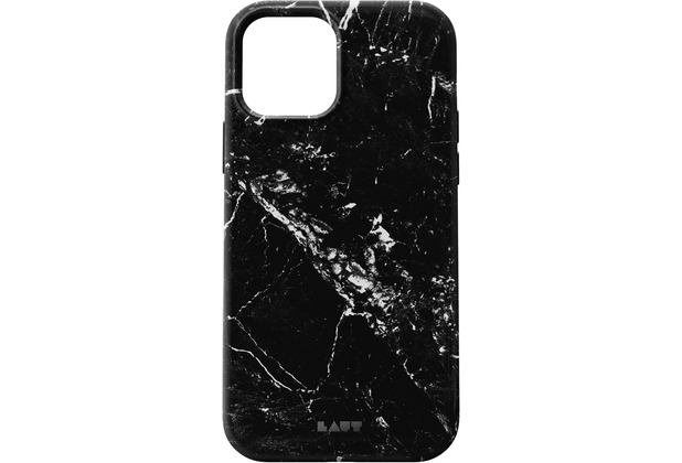 LAUT Huex Elements for iPhone 12 marble black