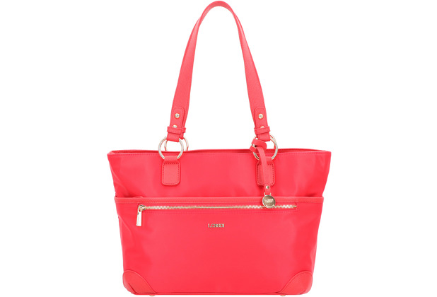 L.CREDI Alena Shopper Tasche 33 cm chili