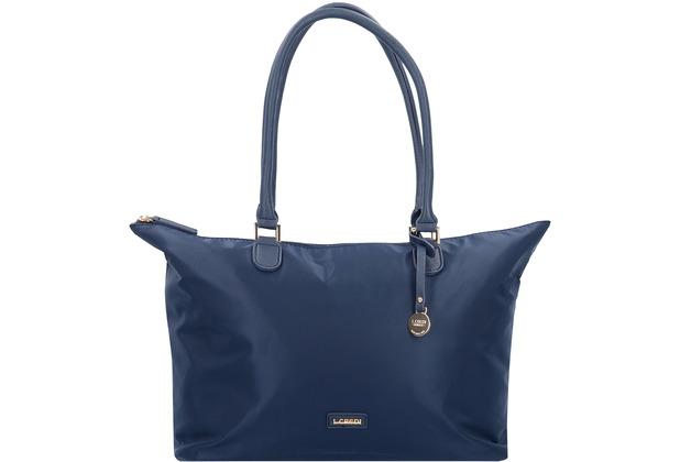 L.CREDI Conny Shopper Tasche 35 cm marine