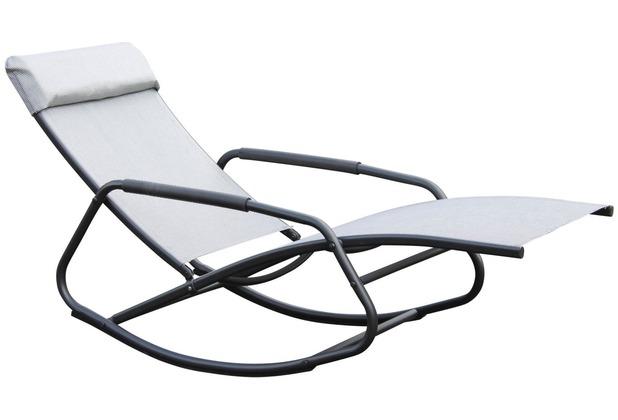 leco schaukelsessel schwarz silber. Black Bedroom Furniture Sets. Home Design Ideas