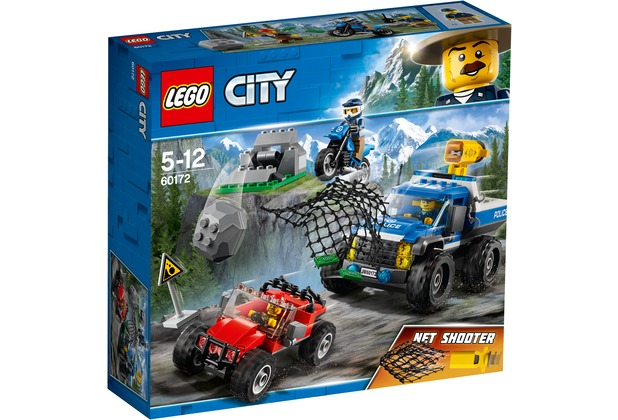 LEGO® City 60172 Verfolgungsjagd auf Schotterpisten