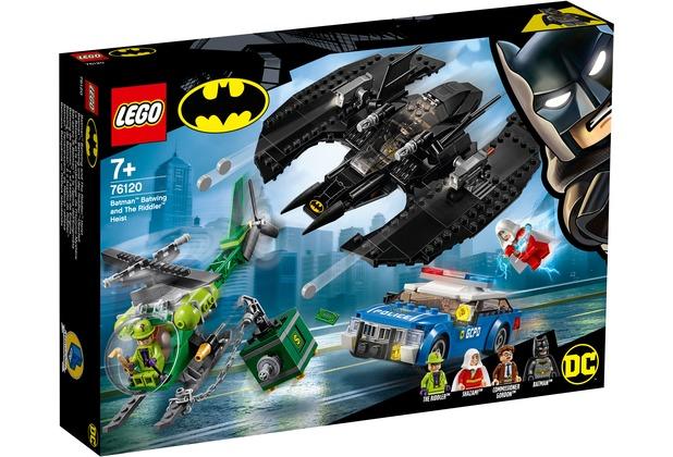 LEGO® DC Comics Super Heroes 76120 Batman™: Batwing und der Riddler™-Überfall