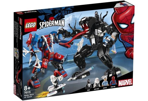 LEGO® Marvel Super Heroes™ 76115 Spider Mech vs. Venom