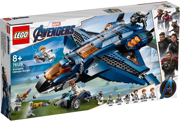 LEGO® Marvel Avengers Movie 4 76126 Ultimativer Avengers-Quinjet
