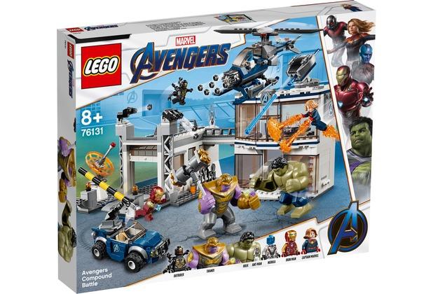 LEGO® Marvel Avengers Movie 4 76131 Avengers-Hauptquartier