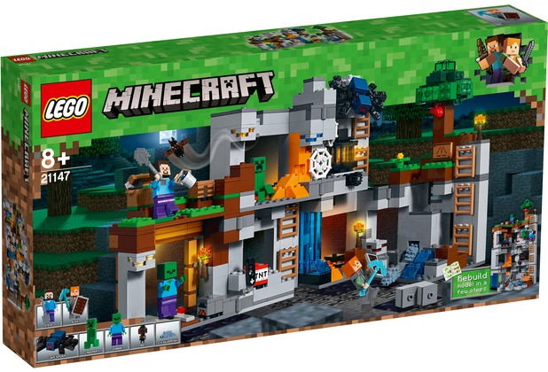LEGO® Minecraft™ 21147 Abenteuer in den Felsen