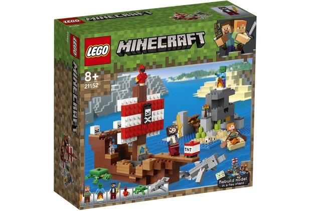 LEGO® Minecraft™ 21152 Das Piratenschiff-Abenteuer