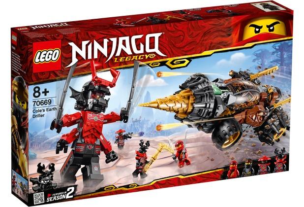 LEGO® NINJAGO® 70669 Coles Powerbohrer