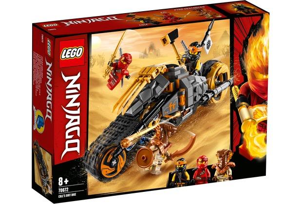 LEGO® NINJAGO® 70672 Coles Offroad-Bike