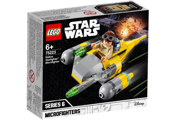 LEGO® Star Wars™ 75223 Naboo Starfighter™ Microfighter