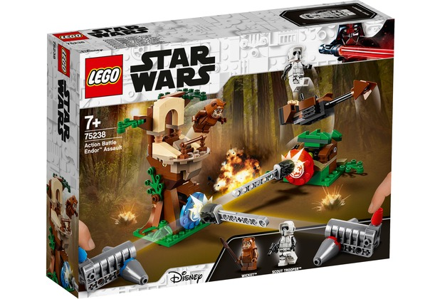 LEGO® Star Wars™ 75238 Action Battle Endor™ Attacke