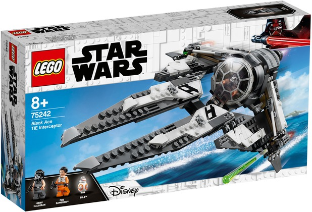LEGO® Star Wars™ 75242 TIE Interceptor™ – Allianz-Pilot