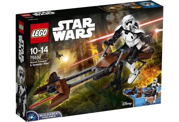 LEGO® Star Wars™ 75532 Scout Trooper™ & Speeder Bike™