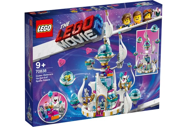 "LEGO® The LEGO Movie™ 2 70838 Königin Wasimma Si Willis ""gar nicht böser\"" Space-Tempel"