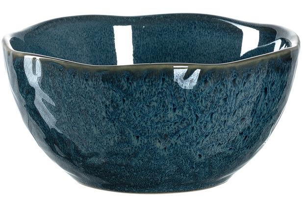 Leonardo Matera Keramikschale 6er-Set 12 cm blau