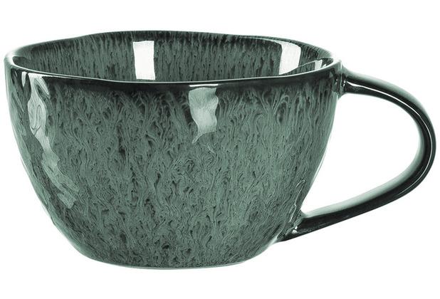 Leonardo Matera Keramiktasse 4er-Set 290 ml grün