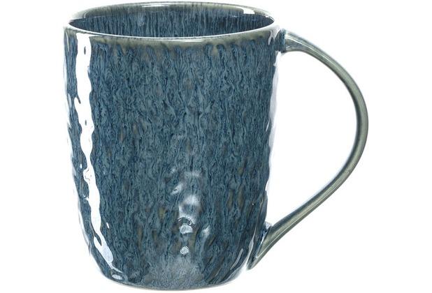 Leonardo Keramiktasse MATERA 430 ml blau