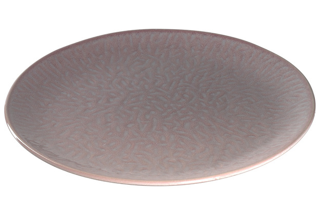 Leonardo Matera Keramikteller 6er-Set 27 cm rosé
