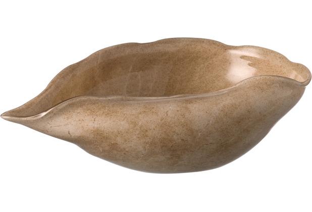 Leonardo Schale LISTEN 31 cm beige