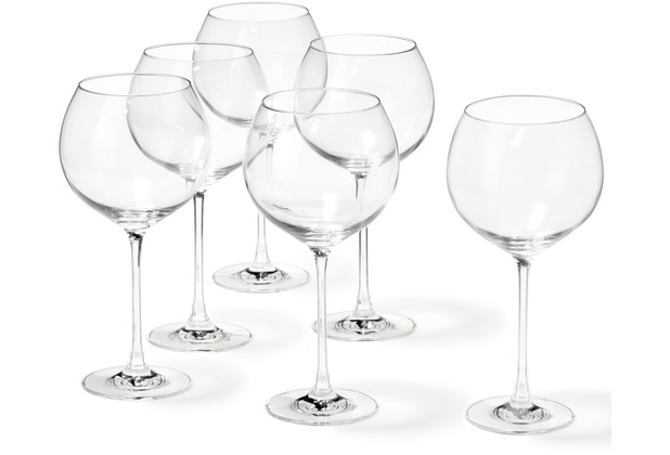 Leonardo Set 6 Burgunderglas Cheers