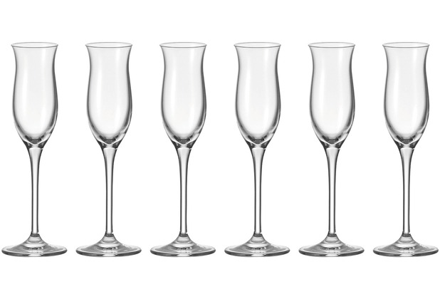 Leonardo 6er Set Grappaglas Cheers