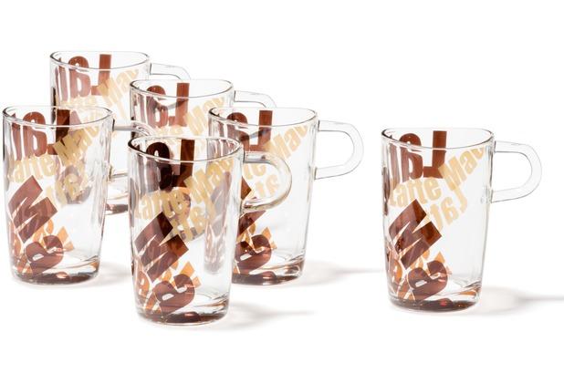 Leonardo Set 6 Latte Macchiato Tasse 3 farbig Loop