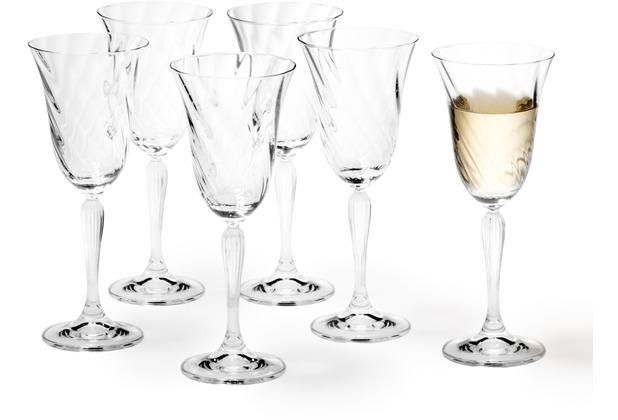 Leonardo 6er Set Weißweinglas Volterra