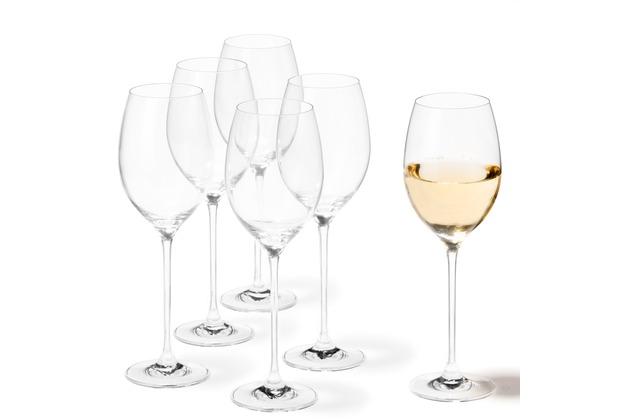 Leonardo 6er Set Weißweinglas Cheers