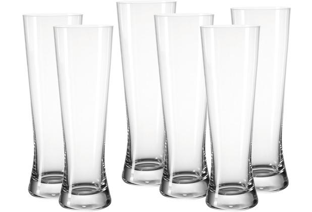 Leonardo Set 6 Weizenbierglas Bionda Bar