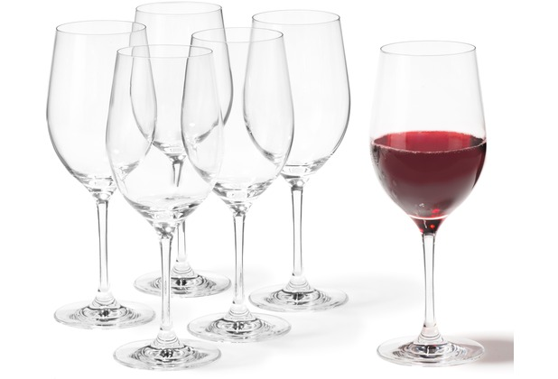 Leonardo Set 6 Rotweinglas Ciao+