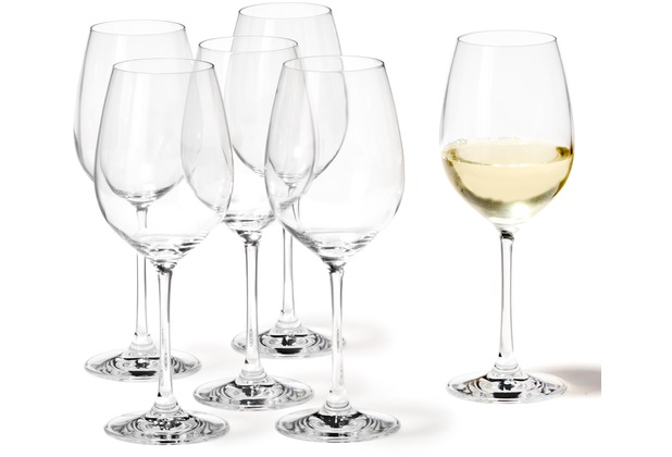Leonardo 6er Set Weißweinglas City Barcelona