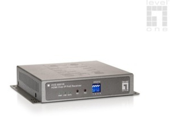 LevelOne HVE-6501R HDMI over IP PoE Receiver - (HVE-6501R)