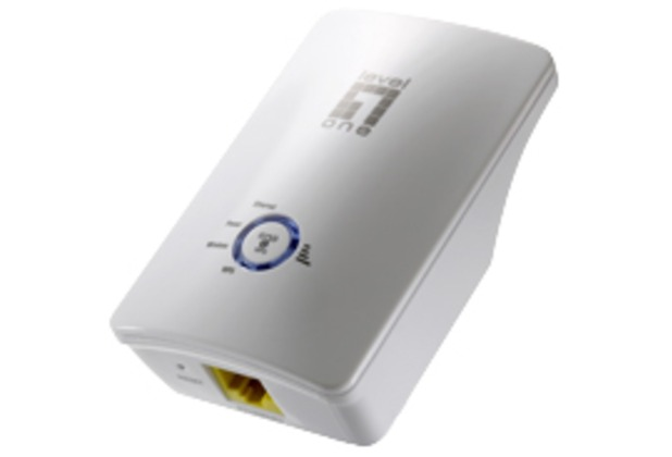 LevelOne Wireless Range Extender 300Mbps 802.11b/g/n - (WRE-6001C)