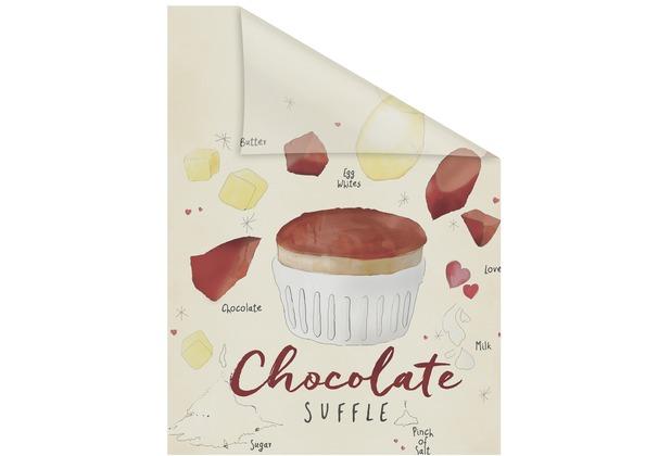 Lichtblick Fensterfolie selbstklebend, Sichtschutz, Chocolate - Beige Braun Breite: 100 cm, Länge: 100 cm