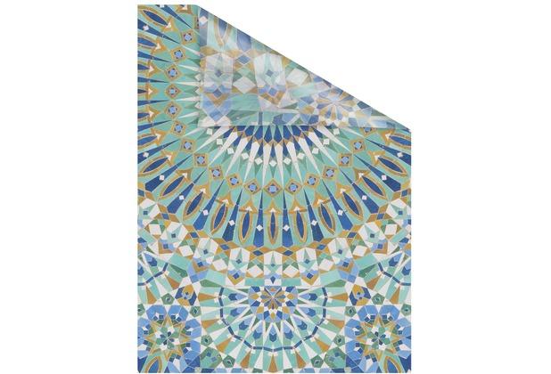 Lichtblick Fensterfolie selbstklebend, Sichtschutz, Orientalische Muster - Bunt Breite: 100 cm, Länge: 100 cm