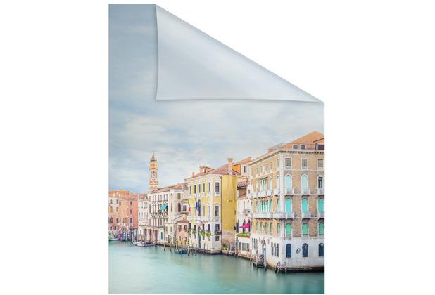 Lichtblick Fensterfolie selbstklebend, Sichtschutz, Vendig - Bunt Breite: 100 cm, Länge: 100 cm
