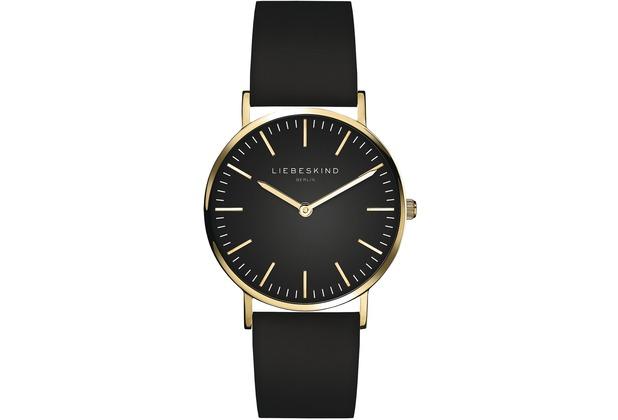 Liebeskind Damenuhr LT-0095-LQ Rindsleder mit Lederarmband Damen Uhr Leder Armbanduhr