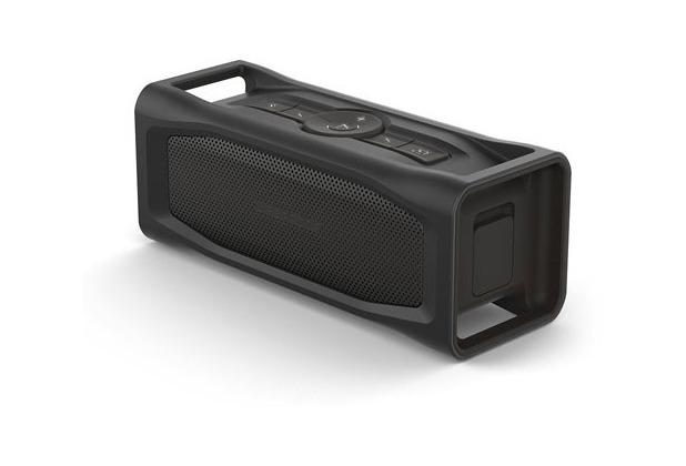 Lifeproof AQUAPHONICS AQ10 - Lautsprecher - tragbar - drahtlos - Bluetooth - Obsidian Sand Black