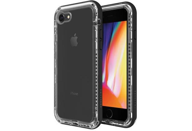Lifeproof NËXT für Apple iPhone 7/8, Back Cover, Black Crystal