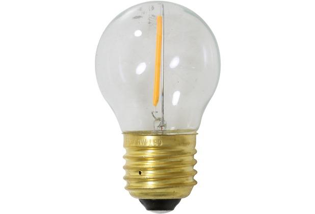 Light & Living LED Kugel Ø5x10 cm LIGHT 1W Klar E27