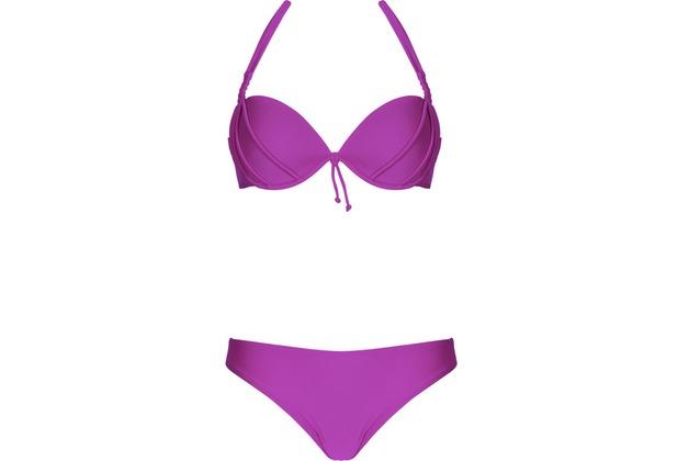 LingaDore BAHAMA, Halterneck bikini set, rosa/pink 36A