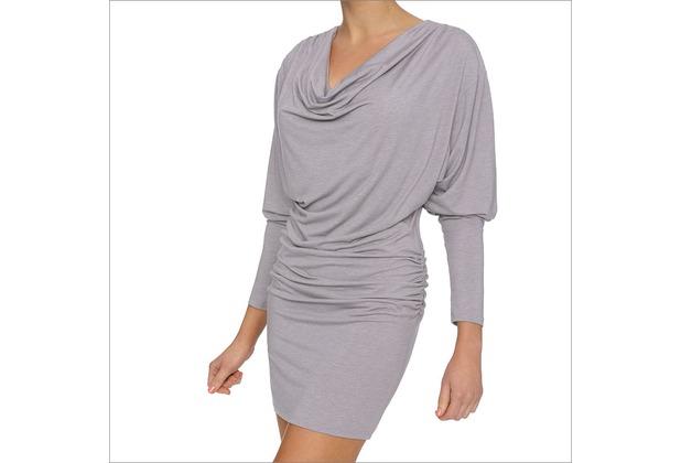 LingaDore LEAH, Dress langärmelig Cowl Neck, graumöwenfarben M